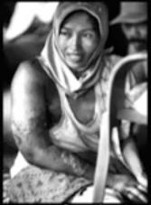 Ibu Suaebah, wafat 9 Maret 2009 karena kanker payudara tanpa operasi.